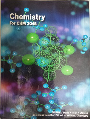 9781285907024: Chemistry for CHM 1045-10th Edition