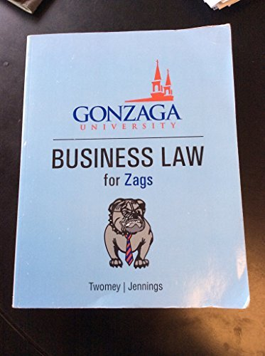 9781285907086: Business Law for Zags