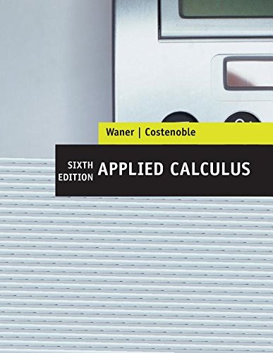 9781285910635: Sixth Edition Applied Calculus