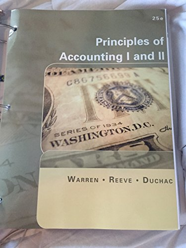 9781285913919: Principles of Accounting I and II, 25th Edition, Eastfield College