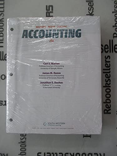 9781285914794: Accounting 25th Edition - Latest version - Cengage Key is NOT included