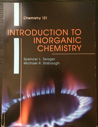 9781285915210: Introduction to Inorganic Chemistry + Lab Manual -SEAGER/SLABAUGH