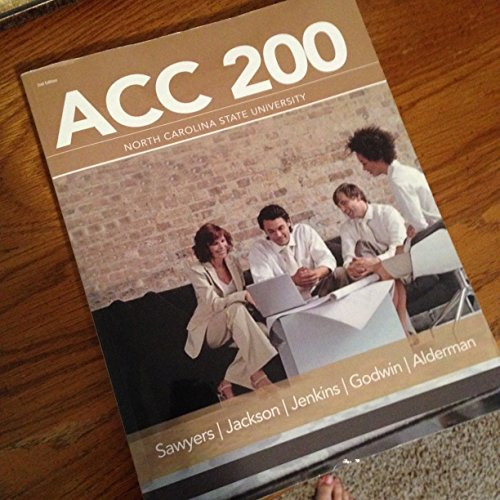 9781285915593: ACC 200 Managerial Accounting