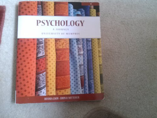 9781285915999: Psychology: A Journey, University of Memphis 5th Edition