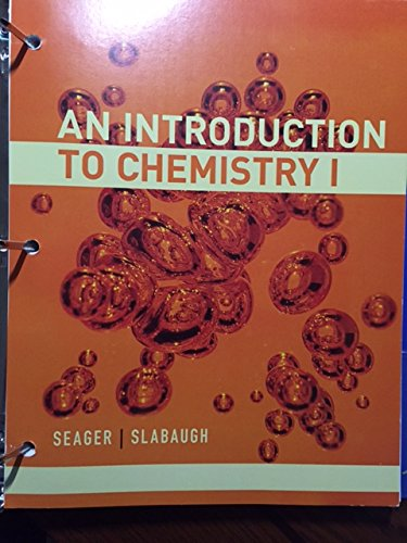 9781285916057: An Introduction to Chemistry 1