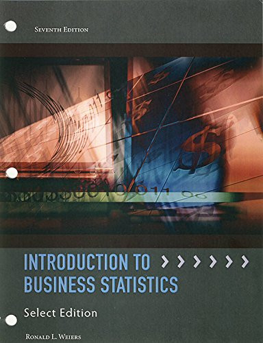9781285916491: Introduction to Business Statistics 7th Edition