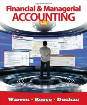 9781285917955: Financial & Managerial Accounting 11e