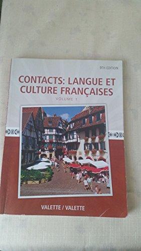 CONTACTS:LANGUE ET CULTURE.V.1>CUSTOM<: Valette, Jean-Paul; Valette,