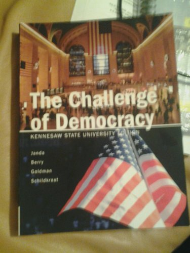 9781285921099: The Challenge of Democracy