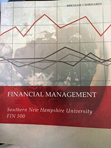 Financial Management: Eugene F. Brigham,