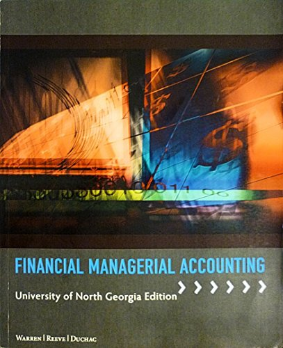 9781285922546: Financial Managerial Accounting