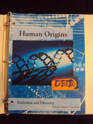 9781285923611: Human Origins Evolution and Diversity