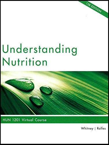 9781285924335: Understanding Nutrition: HUN 1201 Virtual Course, 13B Edition
