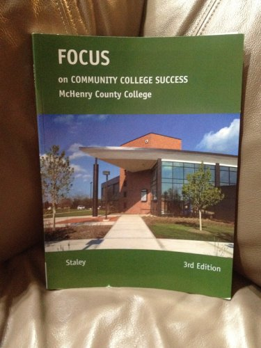 9781285924342: Focus on Community College Success Mchenry County College