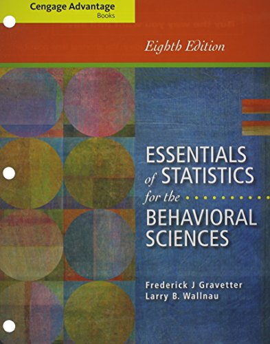 9781285925721: Bundle: Cengage Advantage Books: Essentials of Statistics for the Behavioral Sciences, Loose-leaf Version, 8th + MindTap Psychology, 1 term (6 months) Printed Access Card