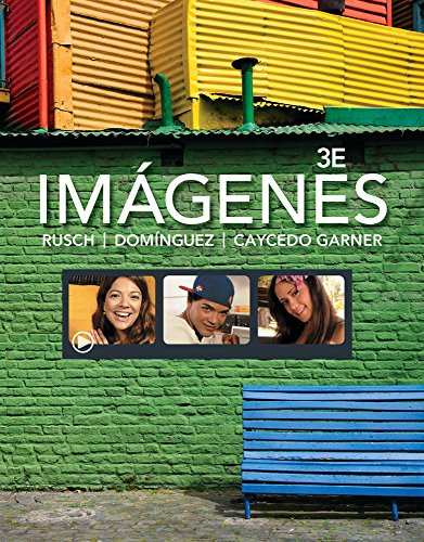9781285927145: Bundle: Imágenes: An Introduction to Spanish Language and Cultures, 3rd + iLrn™: Heinle Learning Center Printed Access Card