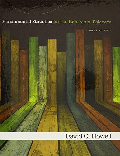 9781285927732: Bundle: Fundamental Statistics for the Behavioral Sciences, 8th + Aplia™ 1 term Printed Access Card