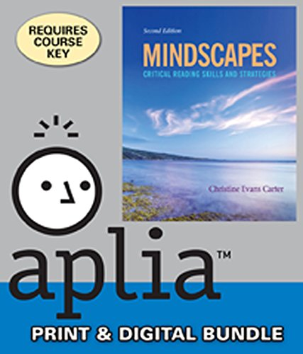 9781285927824: Bundle: Mindscapes: Critical Reading Skills and Strategies, 2nd + Aplia™, 1 term Printed Access Card