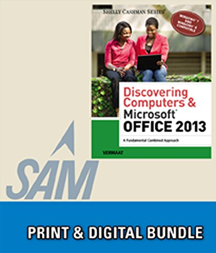 9781285929101: Bundle: Discovering Computers & Microsoft Office 2013: A Fundamental Combined Approach + SAM 2013 Assessment, Training and Projects Printed Access Card
