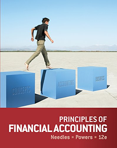 Bundle: Principles of Financial Accounting + CengageNOW Printed Access Card: Needles, Belverd E.; ...