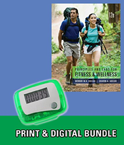 9781285938226: Bundle: Principles and Labs for Fitness and Wellness, 12th + Pedometer