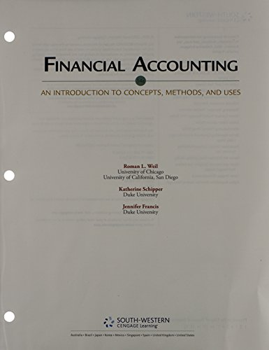 9781285943565: Bundle: Financial Accounting: An Introduction to Concepts, Methods and Uses, 14th + CengageNOW Printed Access Card
