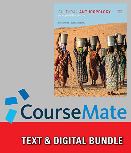 9781285992723: Bundle: Cultural Anthropology: An Applied Perspective, 10th + CourseMate Access Code