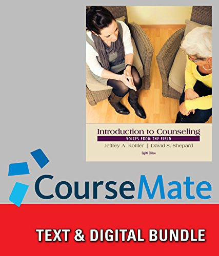9781285993522: Bundle: Introduction to Counseling: Voices from the Field, 8th + CourseMate Access Code