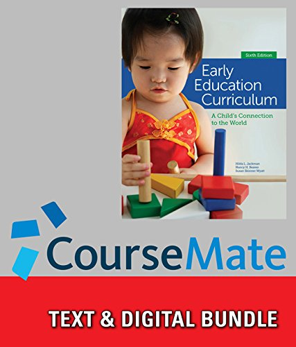 9781285993805: Bundle: Early Education Curriculum: A Child's Connection to the World, 6th + CourseMate Access Code