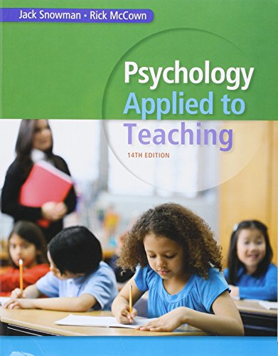9781285993812: Bundle: Psychology Applied to Teaching, 14th + CourseMate Printed Access Card