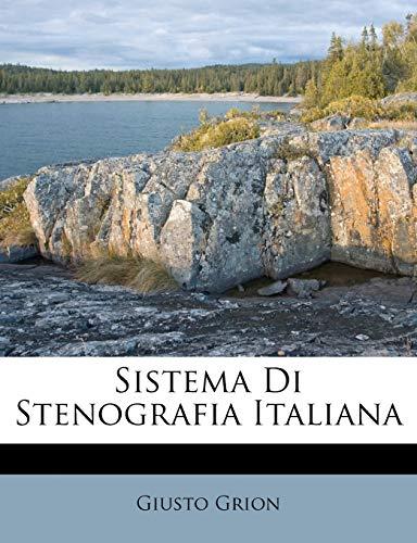 9781286114988: Sistema Di Stenografia Italiana