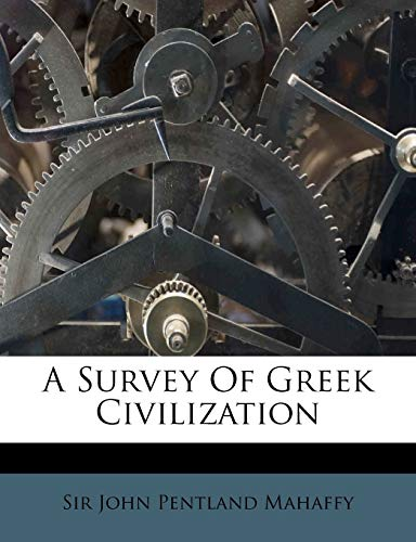 9781286130780: A Survey Of Greek Civilization