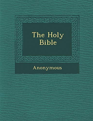9781286875940: The Holy Bible