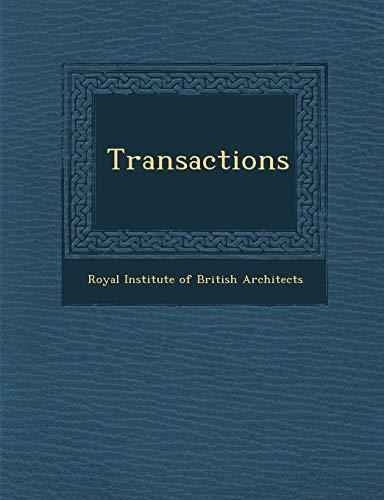 9781286882405: Transactions