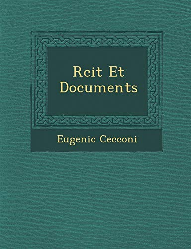 9781286982808: Rcit Et Documents (French Edition)