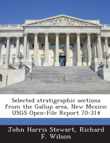 9781287197010: Selected Stratigraphic Sections from the Gallup Area, New Mexico: Usgs Open-File Report 70-314