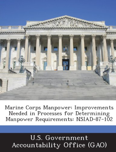 9781287199281: Marine Corps Manpower: Improvements Needed in Processes for Determining Manpower Requirements: Nsiad-87-102