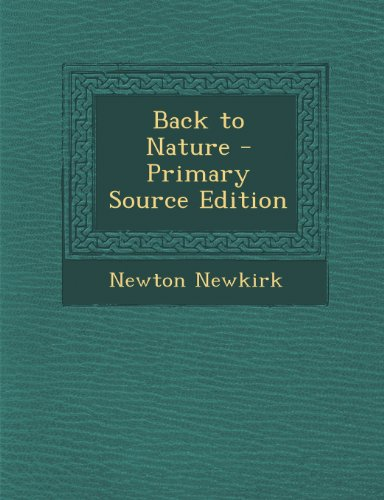 9781287414728: Back to Nature