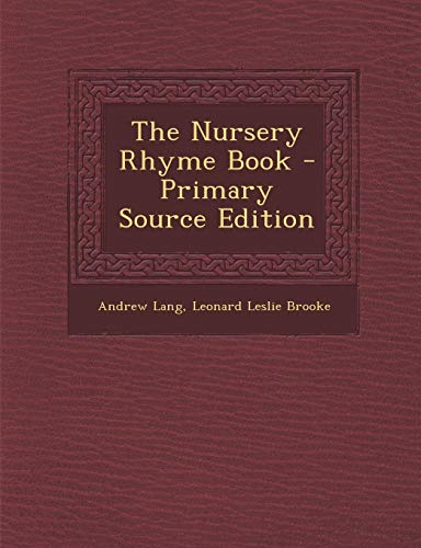 9781287457633: Nursery Rhyme Book