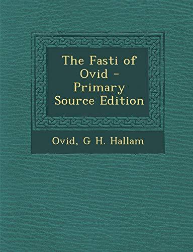 9781287571964: Fasti of Ovid