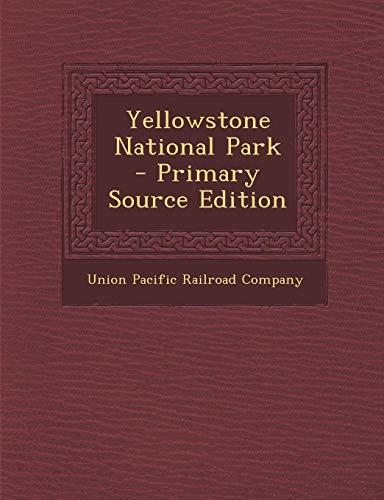9781287661528: Yellowstone National Park