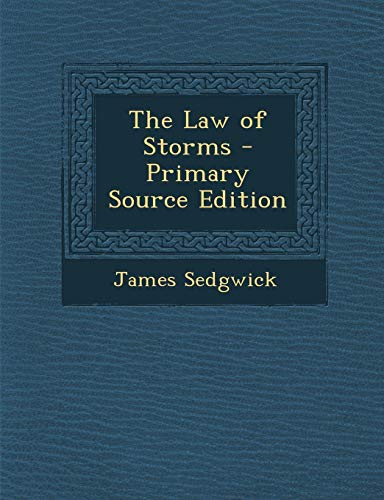 9781287681168: Law of Storms