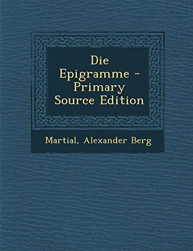 9781287735540: Epigramme