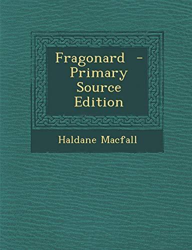 9781287897002: Fragonard - Primary Source Edition