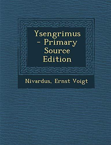9781287912057: Ysengrimus
