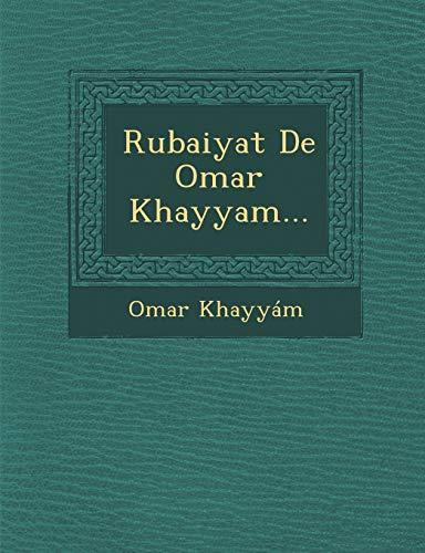 9781288052066: Rubaiyat De Omar Khayyam... (Spanish Edition)