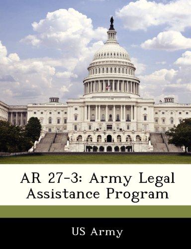 9781288306756: AR 27-3: Army Legal Assistance Program