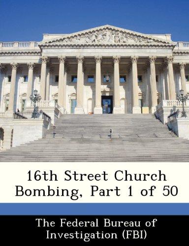 9781288445226: 16th Street Church Bombing, Part 1 of 50