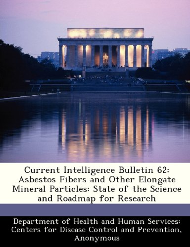 9781288504220: Current Intelligence Bulletin 62: Asbestos Fibers and Other Elongate Mineral Particles: State of the Science and Roadmap for Research