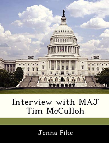 9781288539529: Interview with MAJ Tim McCulloh
